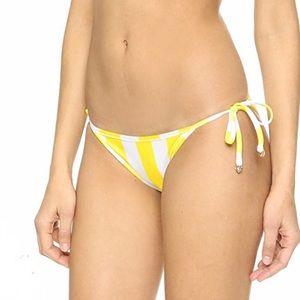 Wildfox Swim - Wildfox Couture Emoji reversible side-tie BOTTOMS